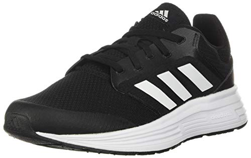 adidas Mens Galaxy 5 Running Shoe, Core Black/Footwear White/Footwear White,42 2/3 EU