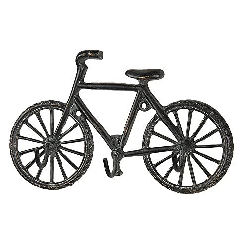 Clayre & Eef Garderobe Fahrrad 3 Haken 19x4x12 cm 6Y3947