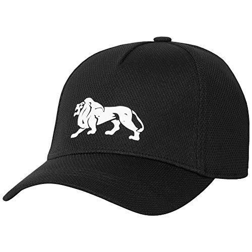 Lonsdale Unisex-Adult TEAN Cap, Black, Einheitsgröße