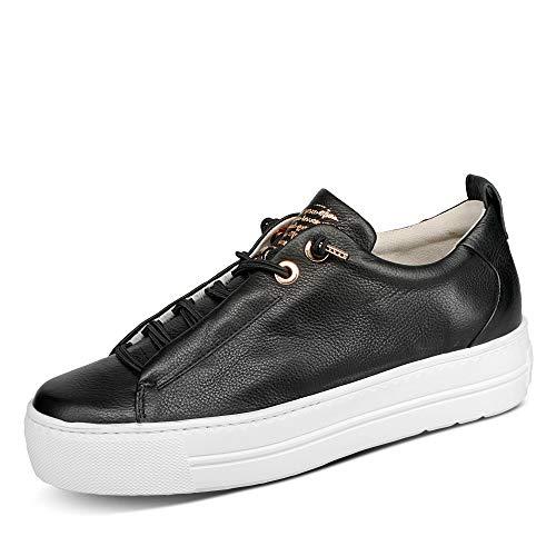 Paul Green Damen Sneaker Slip-On mastercalf schwarz Gr. 37