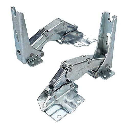 DL-pro Türscharnier passend für Bosch Siemens Neff Constructa Balay 481147 Kühlschrank für Miele 5546050 für AEG Electrolux 407131425/8