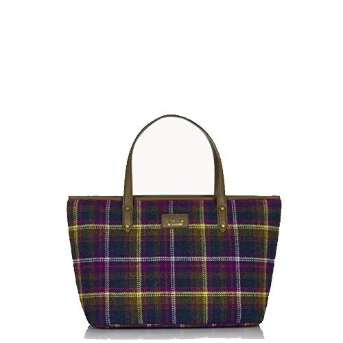 Ness STRATHY Tweed Tote Damen Handtasche, Mehrfarbig - Old Town Classic - Größe: One Size