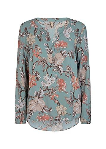 SOYACONCEPT Damen Blumen-Print Bluse SC-Tiara 2 M
