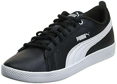 PUMA Damen Smash WNS v2 L Sneaker, Black White, 38 EU