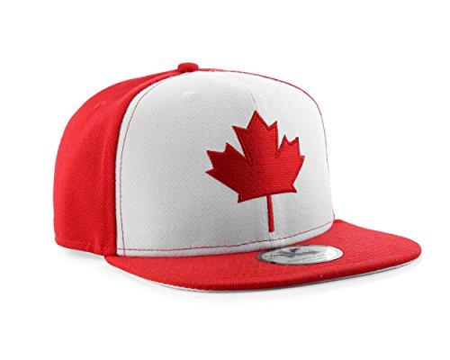 Underground Kulture Kanada Rot und weiße Snapback Baseballmütze