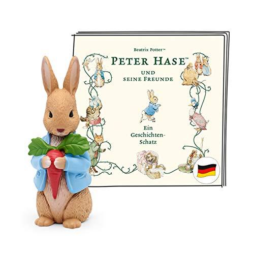 tonies Hörfigur für Toniebox, Peter Hase und Seine Freunde – EIN Geschichten-Schatz, Hörspiel für Kinder ab 3 Jahren, Spielzeit ca. 65 Minuten