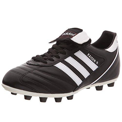 Adidas–Kaiser 5Liga, Herren Fußballschuhe, Schwarz (Black/Running White Ftw), 48 2/3 EU (13 Herren UK)