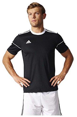 Adidas SQUAD 17 JSY SS BLACK/WHITE Herren, Schwarz (Black/White), L