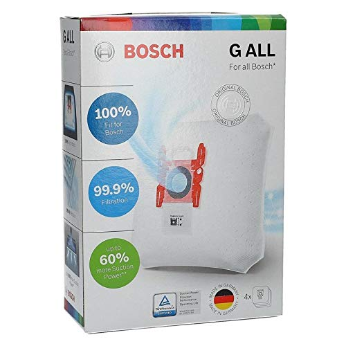 4 Staubsaugerbeutel+Mikrofilter Typ G Filterbeutel Bosch Siemens 468383