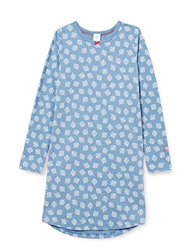 Sanetta Mädchen Sleepshirt blau Nachthemd, Coronet Blue, 128