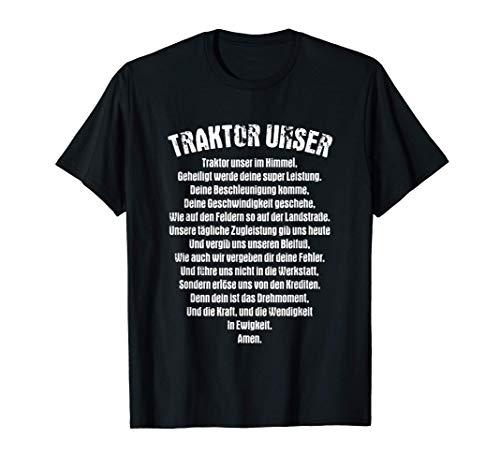 Traktor Unser - Lustiges Bauern Trecker Bauernhof Traktor T-Shirt