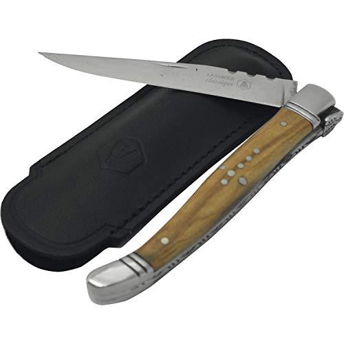 Laguiole Taschenmesser mit Olivenholzgriff