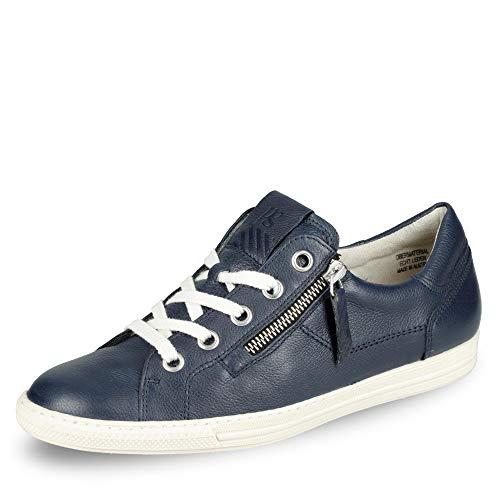 Paul Green Damen SUPER Soft Pauls, Frauen Low-Top Sneaker,straßenschuhe,Strassenschuhe,Sportschuhe,Freizeitschuhe,Blau (Space),41 EU / 7.5 UK