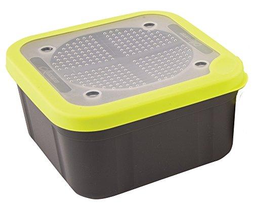 Fox Matrix Grey Lime Bait Boxes - Köderbox für Lebendköder, Madenbox, Wurmbox, Luftdurchlässige Box für Angelköder, Volumen:1.1 Pint (0.625 Liter)