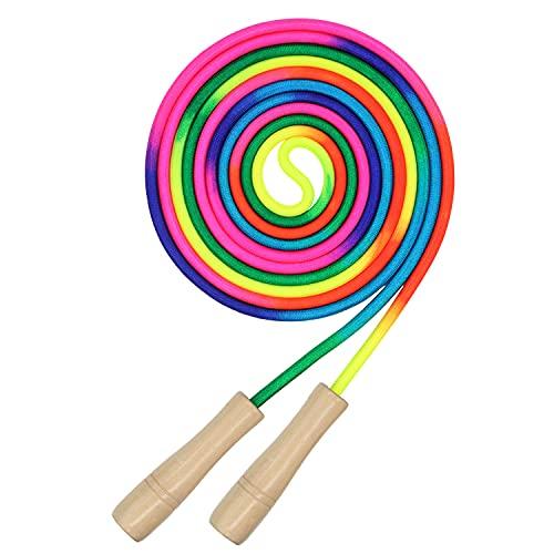 Lange Springseil, 5M Springseil für Mehrspieler, Gruppen Seil für Kinder und Erwachsene Seilspringen