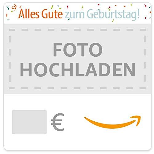Digitaler Amazon.de Gutschein mit eigenem Upload (Geburtstag)