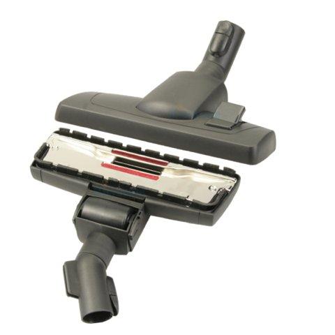 Bodendüse für Miele Serie C3 Complete & C3 Compact - EcoLine (Plus), Cat & Dog, PowerLine, Silence, etc. umschaltbar mit Einrast- und Parkvorrichtung von Microsafe®