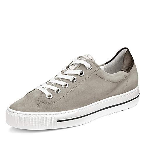Paul Green Damen Sneaker 4741, Frauen Low-Top Sneaker, Freizeit Halbschuh strassenschuh schnürer schnürschuh sportschuh,Cloud/White,38 EU / 5 UK