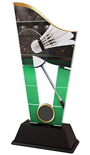 Trophy Monster   Badminton Trophäe   für Kinder, Party, Geburtstag   Produkt OHNE persönliche Beschreibung 