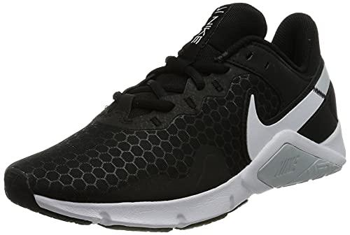 Nike Damen Legend Essential 2 Leichtathletik-Schuh, Black/White-Pure Platinum, 40 EU