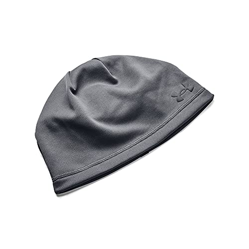 Under Armour Men's Storm Beanie , Pitch Gray (012)/Black , One Size Fits Most