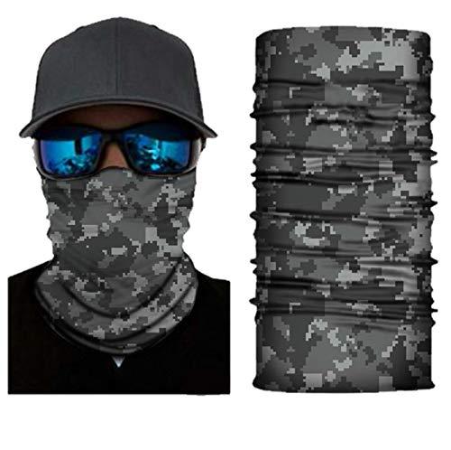 Camouflage Halstuch Kopftuch Skifahren Multifunktionstuch Stirnband Winddicht Motorradmaske Kopf Wrap Sturmmaske Snowboarden Warm Neck Gaiter Bandana Balaclava UVSchutz