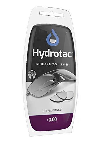 Leselinsen Hydrotac/Geeigneit für Sonnenbrillen und Spobrillen LH (+3.00)