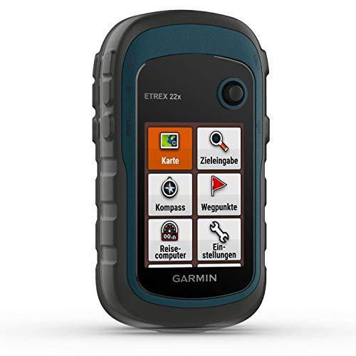 Garmin eTrex 22x – robustes, wasserdichtes GPS-Outdoor-Navi mit 2,2