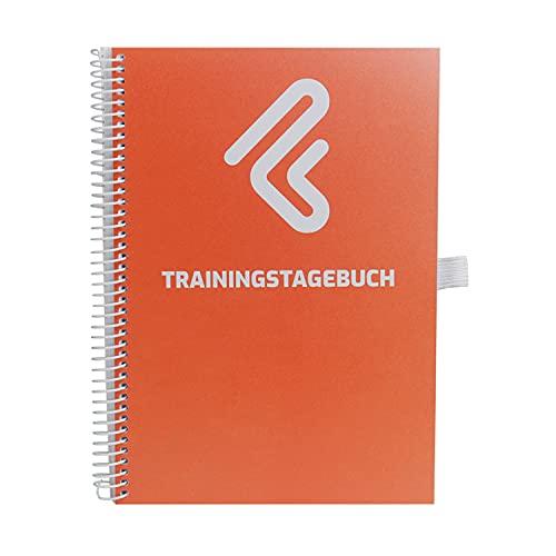 TNT – Trainingstagebuch DIN A5 für Home Gym, Krafttraining, Fitnessstudio, Bodybuilding & Cardio | 132 Seiten