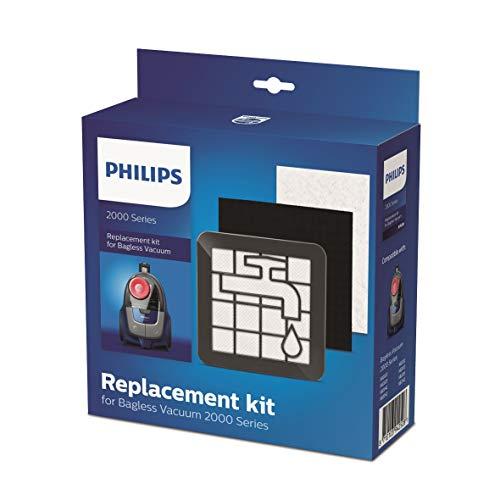 Philips XV1220/01 Ersatz-Filter-Set für beutellose Staubsauger Serie 2000