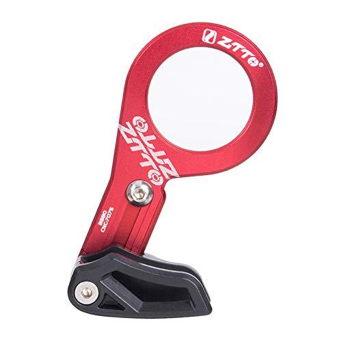 Fahrrad Einzelscheibe Kettenführungsplatte Schutzring Schutz Mountainbike Einzelscheibe Ritzel Stoßdämpfer Befestigungsvorrichtung für 1X System ISCG 03 ISSCG 05 Bb