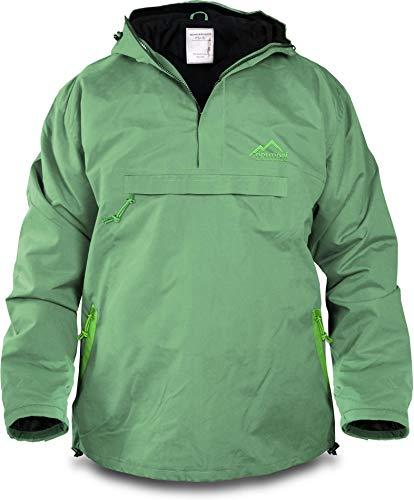 normani Winddichte Funktions-Jacke für Damen und Herren von S-4XL Farbe Hellgrün/Grün Größe XXL