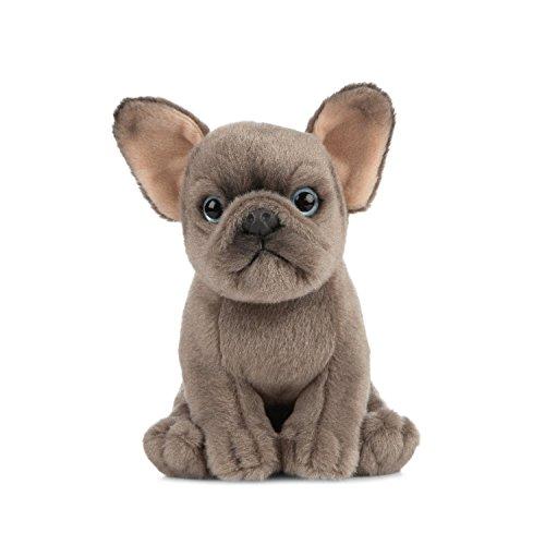 Living Nature Soft Toy - Stofftier Französische Bulldogge Welpe (16cm)