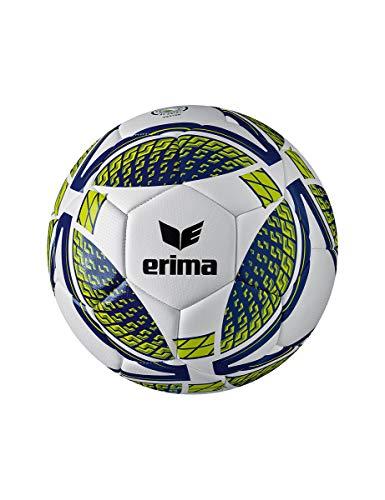 Erima 7192004 Erwachsene Senzor Training Fußball, new navy/lime, 5