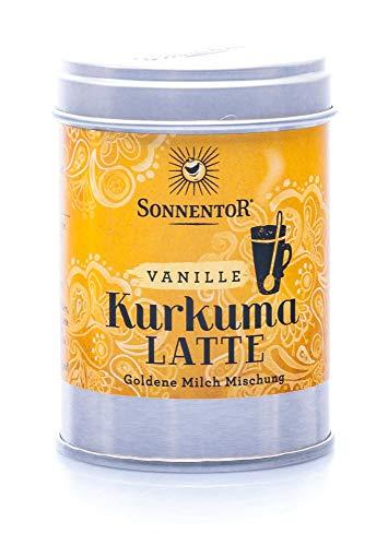 Sonnentor Kurkuma-Latte Vanille bio, Dose, 60 g