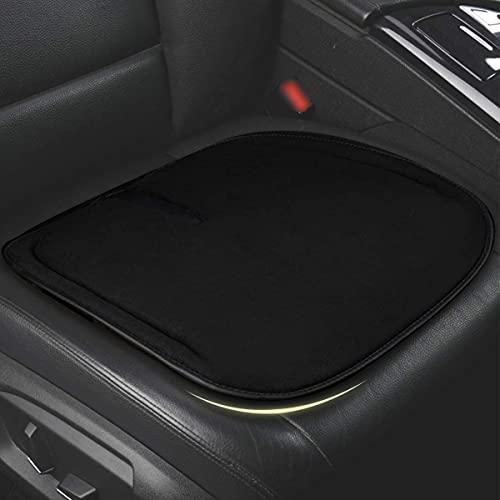 Auto Sitzkissen Memory Foam – ZATOOTO Sitzbezüge Auto Vordersitze, Sitzpolster für Auto, Büro, Hause, Weich, rutschfest, Schwarz