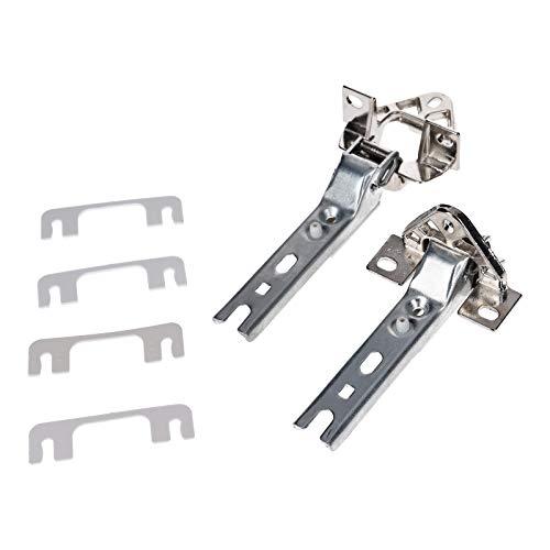 DL-pro Türscharnier Set für Bosch Siemens Neff 268698 00268698 Scharnier Topfscharnier für Kühlschrank Gefrierschrank