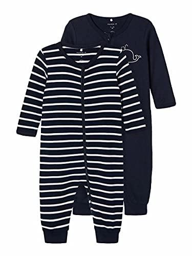 NAME IT Child Schlafanzug 2er-Pack Reißverschluss 92Dark Sapphire