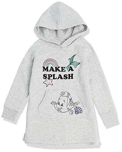 Spotted Zebra Mädchen Disney Star Wars Marvel Die Eiskönigin Prinzessin Fleece-Kapuzenkleider, Princess Splash, Medium