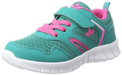 Lico Skip VS Damen Sneaker, Türkis/ Pink, 37 EU
