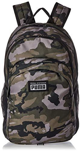 PUMA Unisex, Academy Backpack Rucksack, Forest Night-Camo Aop, Einheitsgröße
