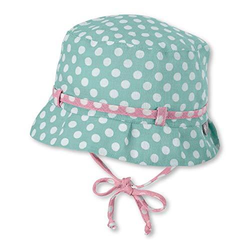 Sterntaler Baby-Mädchen Hut Mütze, Türkis (Helltürkis 400), 43