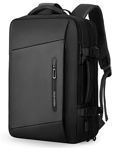 MARK RYDEN Laptop Rucksack, 25L- 40L 17,3 Zoll Business Rucksack Herren, Laptop Tasche mit USB-Ladeanschluss,Wasserdichter Rucksack Diebstahlsicher, Fluggeprüfter Rucksack, Handgepäck-Rucksack