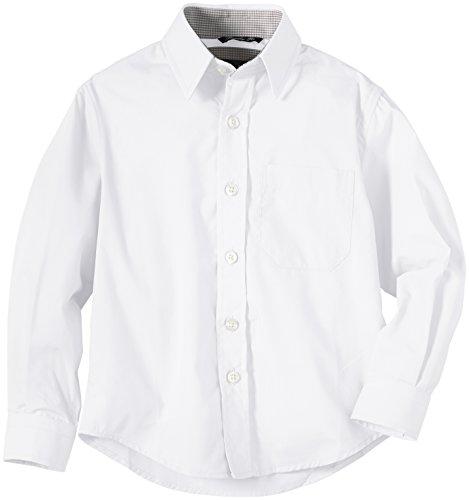 G.O.L. Jungen Hemd mit Kentkragen, Einfarbig, Gr. 134, WeiÃY