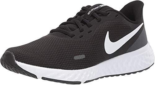 Nike Damen Revolution 5 Laufschuhe, Black White Anthracite, 40.5 EU