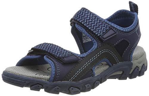 Superfit Jungen Hike Sandalen, Blau (Blau 80), 40 EU