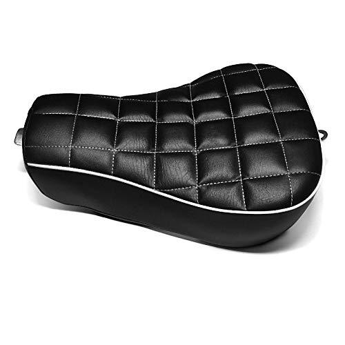 Solo Sitz Kompatibel für Harley Davidson Sportster 04-20 Craftride RK1 Sitzbank schwarz