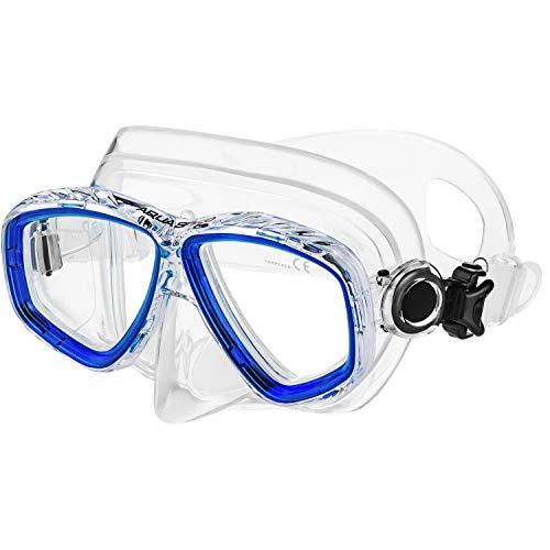 Aqua Speed Taucherbrille Brillenträger mit Sehstärke von +1,75; +2,25; +2,75 und -1,5 bis -8,0 | Tauchmaske Erwachsene | Schnorchelmaske | 11