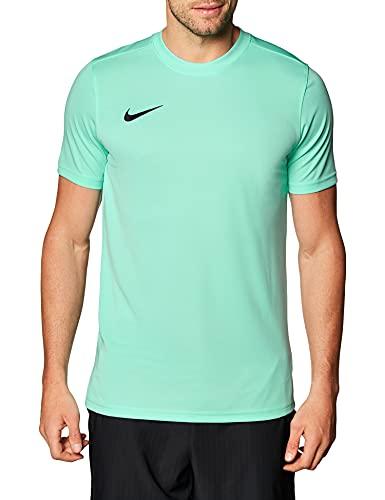 Nike Herren T-Shirt M NK Dry Park VII JSY SS, Hyper Turq/Black, L, BV6708