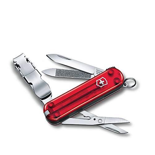 Victorinox Taschenmesser Nagelknipser Nail Clip 580 (8 Funktionen, Nagelknipser, Schere, Nagelfeile, Klinge)